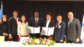 JCI x KIF: Signing Global Partnership For SDGs and Youth